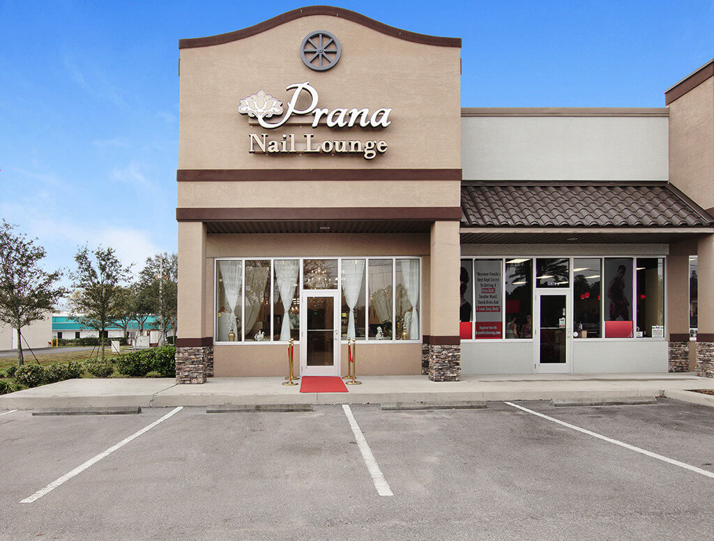 Prana Nail Lounge front building